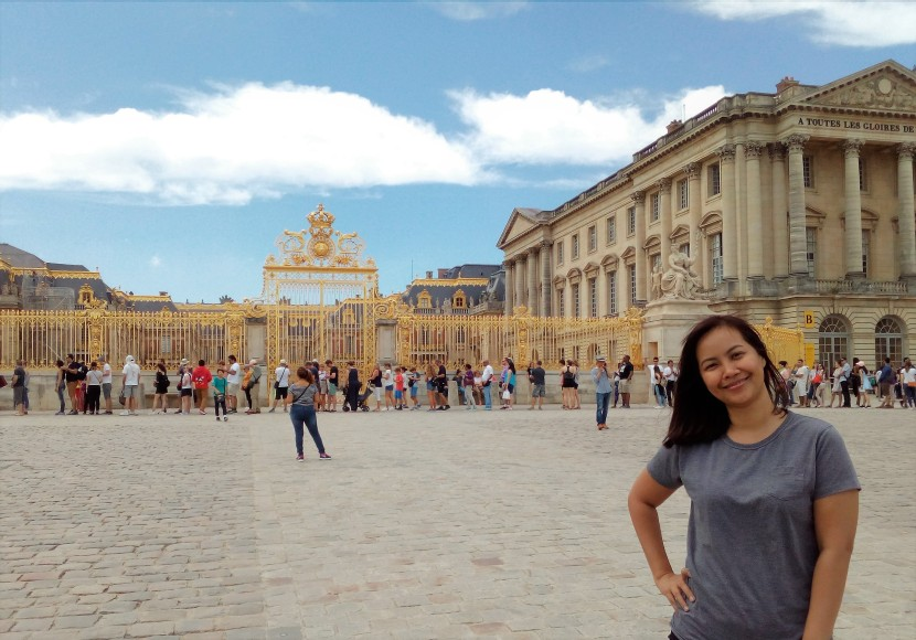 Paris_Chateau de Versailles_Gate