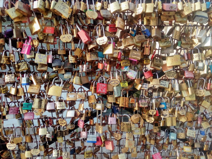 Paris_Love Locks