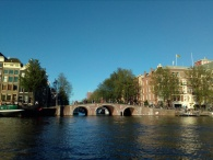 The canals and bridges of Amsterdam